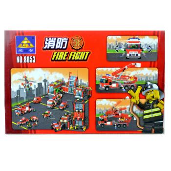 开智拼装积木消防系列