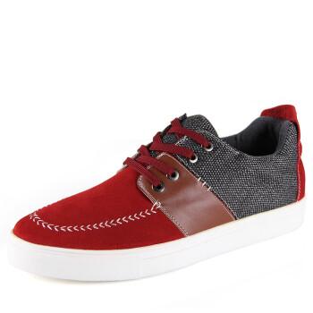 全球骆驼男士休闲鞋韩版潮鞋加大码男鞋单鞋英伦流行
