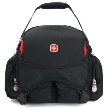 瑞士军刀SWISSGEAR 高密度耐磨防水面料单肩单反相机专用摄影包¥218