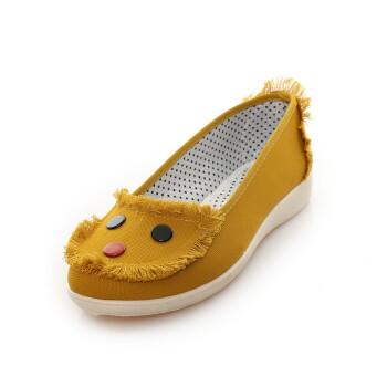女士经典布鞋绣花鞋甜美淑女北京工艺时尚休闲女鞋yz