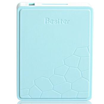 倍斯特Besiter 0137格兰木 移动电源/充电宝 10400毫安 蓝色