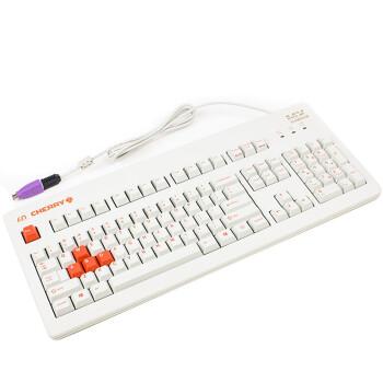 樱桃(Cherry) G80-3060HLCUS-0 红轴白橙二色键帽 60周年限量版机械键盘 易迅价