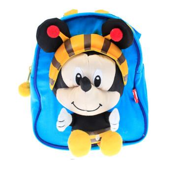 disney 迪士尼 开学礼物 米奇米妮幼儿园双肩学生书包图片