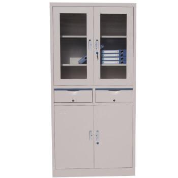 虎牌(Tiger) 文件柜铁皮柜 存储柜 中二屉办公储物柜 可做书柜  办公家用