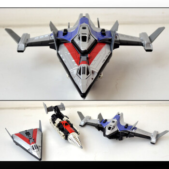 迪迦戴拿奥特曼玩具飞机 套装人偶模型 飞机模型 合体