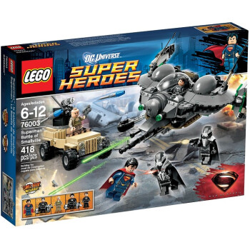 历史新低,LEGO Superheroes 76003 Superman Battle of Smallville超级英雄系列之决战小村庄 $29.2