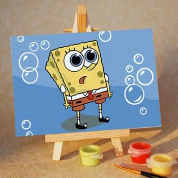 幼儿绘画作品展边框