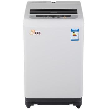 松下(Panasonic)XQB65-Q76201 6.5公斤全自动波轮洗衣机 松下品质 智能自检 省水省电 双重洁净(灰色)