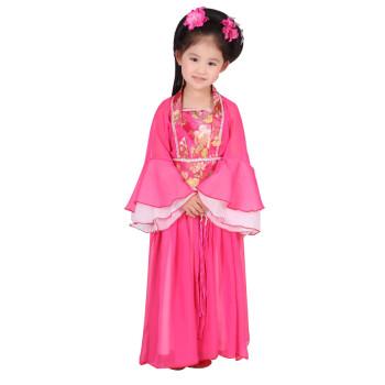 儿童古装仙女服古代演出服七仙女服汉服
