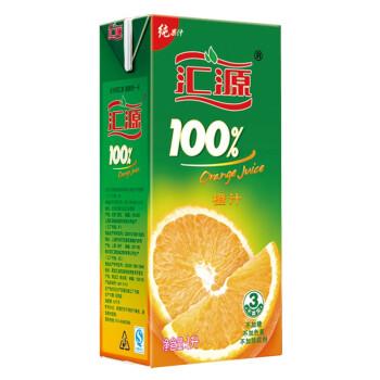 汇源100%橙果汁1L 盒装
