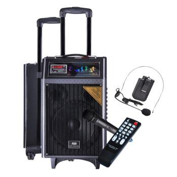 先科(SAST) 天韵10号 单10寸拉杆音箱 户外便捷式音响/大功率录音扩音器