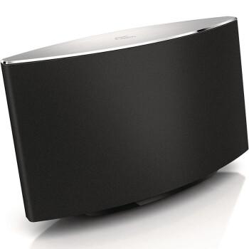 飞利浦(PHILIPS) AD7000W/93 迷你音响 AirPlay Mini音响 无线wifi音箱 苹果音响 安卓蓝牙音箱(黑色)