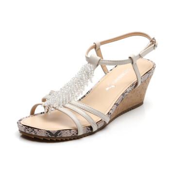 女鞋 凉鞋 红蜻蜓 红蜻蜓