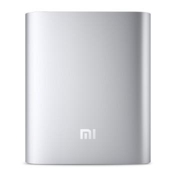 小米(MI) 移动电源 原厂正品10400mAh毫安铝合金外壳 银色