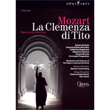 古诺小提琴小夜曲谱-莫扎特 狄托的仁慈 2dvd