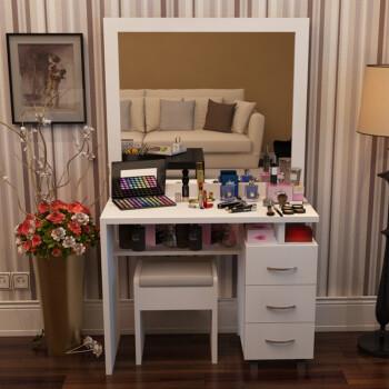 蜗爱简约现代家具卧室高档板式v家具台大家具3长实镜面开裂图片