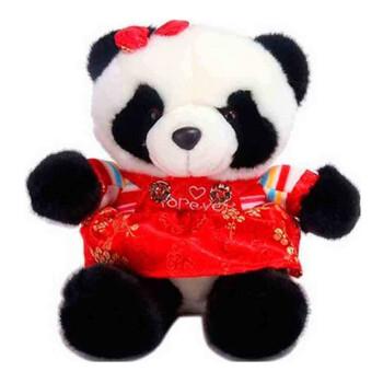 熊猫公主双肩小背包幼儿园小班书包