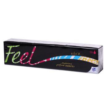 维达 Feel手帕纸 4层香水纸巾*12包(黑色魅惑香水)