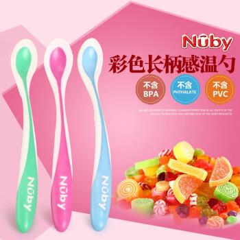 努比(Nuby) 感温变色汤匙 4只装  $2.95 可直邮