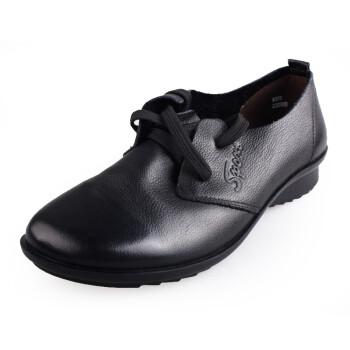 舒适系带女单鞋