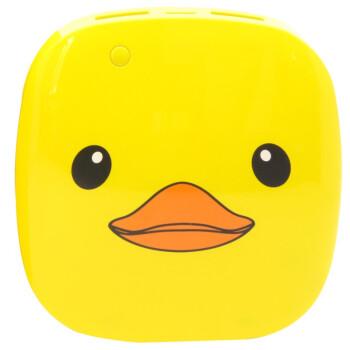 乐泡(lepow) 月光石卡通大黄鸭 移动电源 6000毫安 黄色