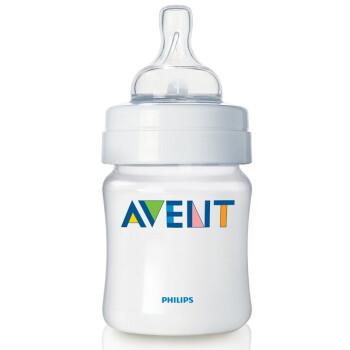 飞利浦 PHILIPS  AVENT 新安怡 防胀气奶瓶 125ml 、260ml*2个(共4个)89.5元包邮