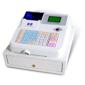 爱宝(Aibao) M-800电子收款机(白) USB接口