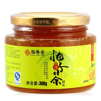 恒寿堂 蜂蜜柚子茶300g