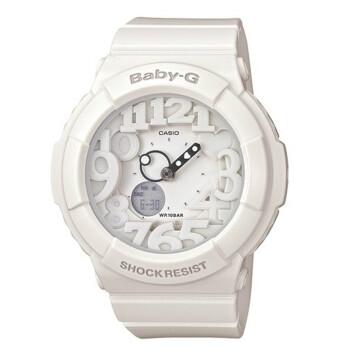 卡西欧(CASIO)手表 BABY-G系列潮流运动双显石英女表BGA-131-7B