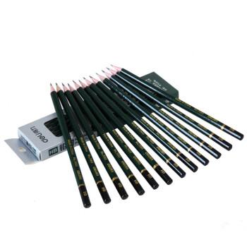 得力(deli) 7083 安全高级石墨铅芯素描 绘图HB铅笔/学生铅笔 12支/盒