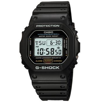 卡西欧(CASIO)手表 G-SHOCK系列数字显示多功能运动石英男表DW-5600E-1V