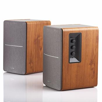 300元内最强悍书架音箱,漫步者 EDIFIER R1200TII  ¥299-100,R1000TC ¥129