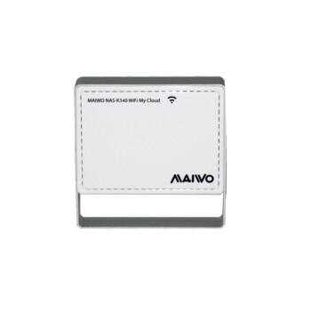 麦沃(MAIWO)便携式无线存储云电盘(附带移动电源,,双频wifi路由器,支持BT下载) 银白色 4G