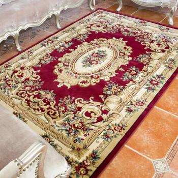 纬剪花80*120cm欧式宫廷客厅卧室沙发茶几门厅地毯