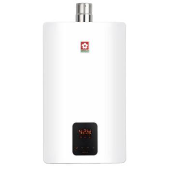 樱花(Sakura) 88HE79-16A 16升 恒温精控 燃气热水器(天然气)