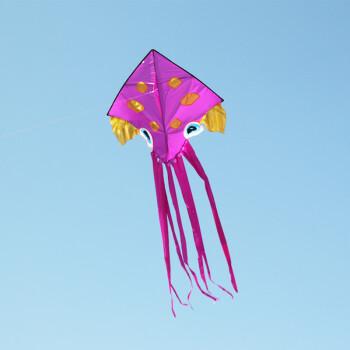 潍坊丽达风筝 2014意诚新款桶式八爪风筝可爱卡通