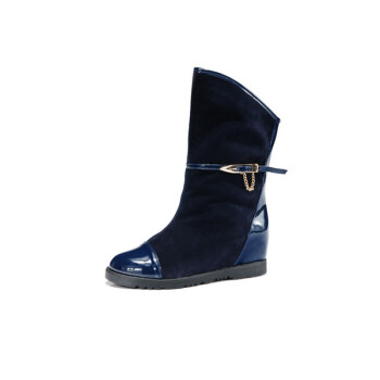 休闲筒靴舒适单鞋