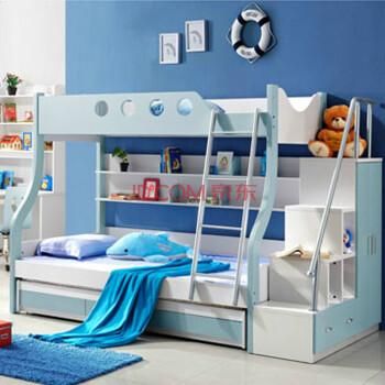 西楚2#双层床儿童家具套房子母床高低床上下床母子床