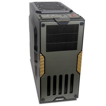 安钛克(Antec) GX900 中塔式机箱 军绿色 USB3.0/支持超长显卡/ 支持18cm高度散热器/12cm超大风扇