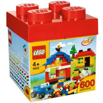 LEGO 乐高 基础创意拼砌系列 乐高创意入门款 4268(600片)