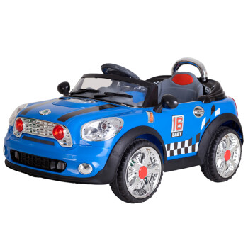 BeRica 贝瑞佳 四轮儿童电动汽车(驾驶/遥控/安全带/大灯/MP3播放)