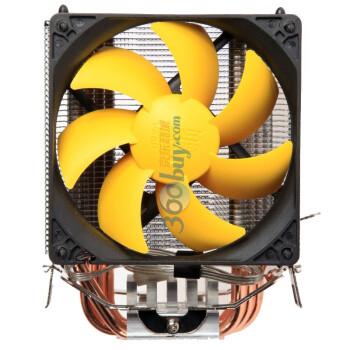 Pccooler 超频三 黄海豪华版 S90F 多平台CPU散热器