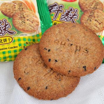 思朗 纤麸黑芝麻消化饼干 2500g