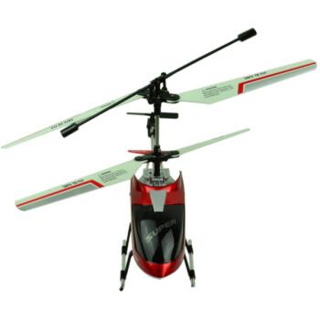 恒祺505遥控飞机3.5通道带陀螺仪稳定器红色