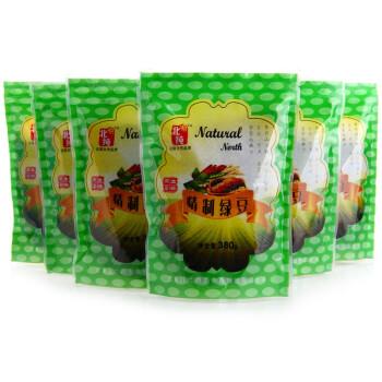 东北特产 北纯精制绿豆2280g(380g*6袋)