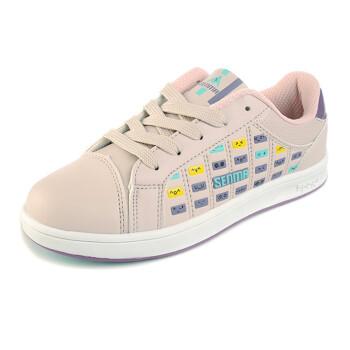 Senma 森马 女款休闲低帮板鞋 180022 白 粉色双可选 82.7元包邮