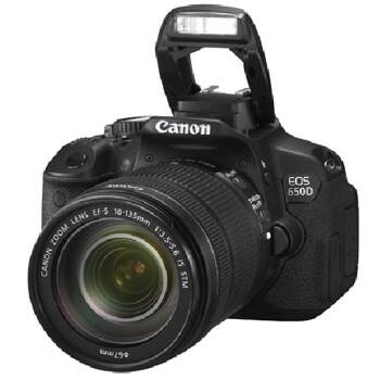 Canon 佳能 EOS 650D 单反套机(含18-135 STM)