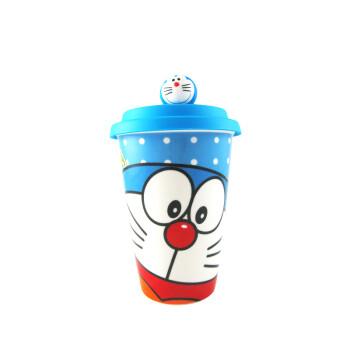 防漏水杯 多款卡通礼品杯 白领喝水杯 学生用品蓝色大脸星空哆啦a梦图片