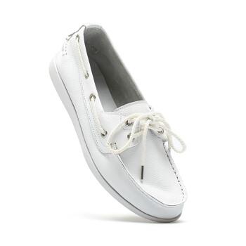 sanken帆船鞋 男鞋 豆豆鞋男鞋子休闲鞋真皮韩版英伦