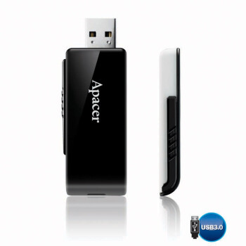 Apacer 宇瞻 赛车碟 AH350 U盘 16GB USB3.0
